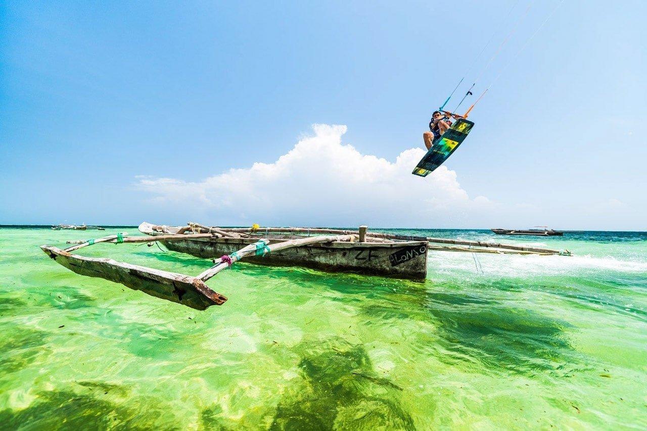 Simone-kitesurf zanzibar saut dhow
