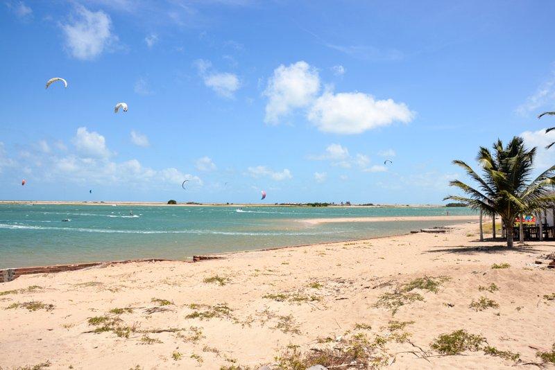 Simone-kitesurf-Brésil-Ilha do Guajiru