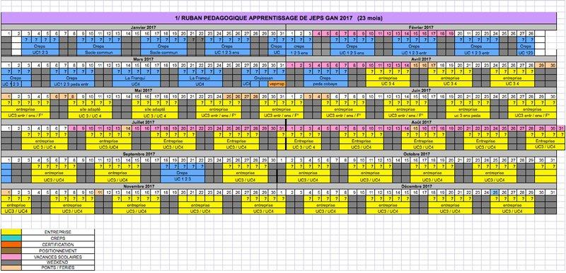 calendario-DEJEPS
