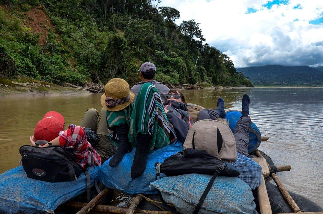 Amazon-Bolivia-by-raft