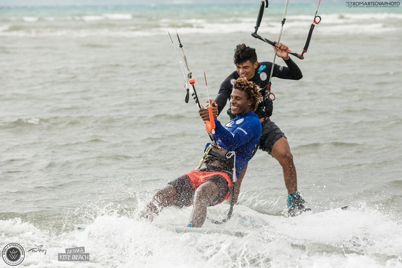 competition kitesurf-Carlos Mario-Corniel