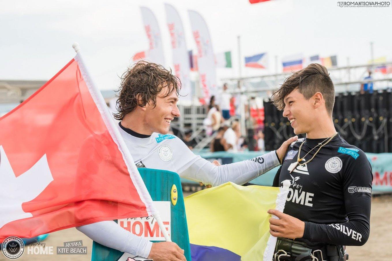Competition kitesurf-Chabloz-Rodriguez