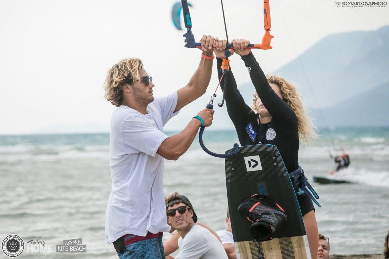 competition kitesurf-Garat-Novotna