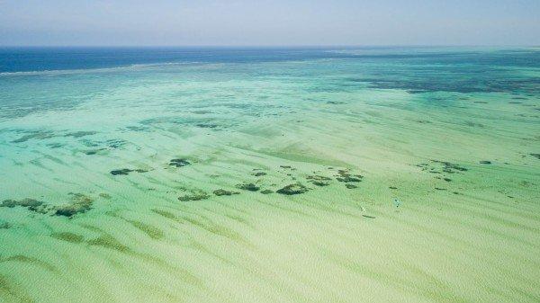 Kitesurf-Zanzibar-Paje-drone