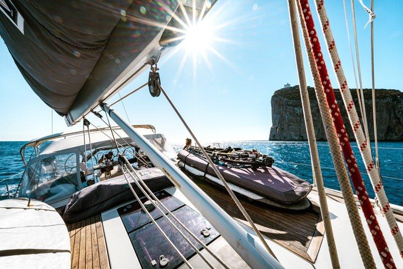 Happy Sailing sailing boat