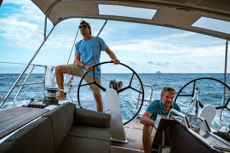 Triderland-Happy Sailing Simo e Pat