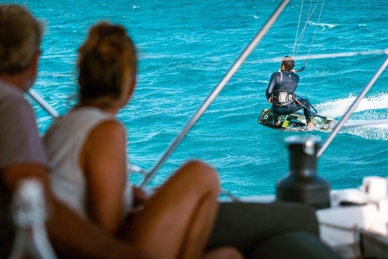Triderland-Happy Sailing kite cruise