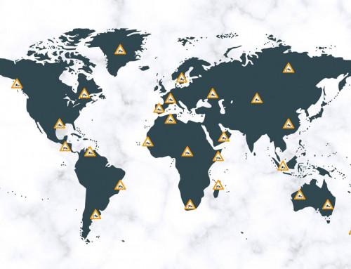 KITESURFING SPOTS MAP