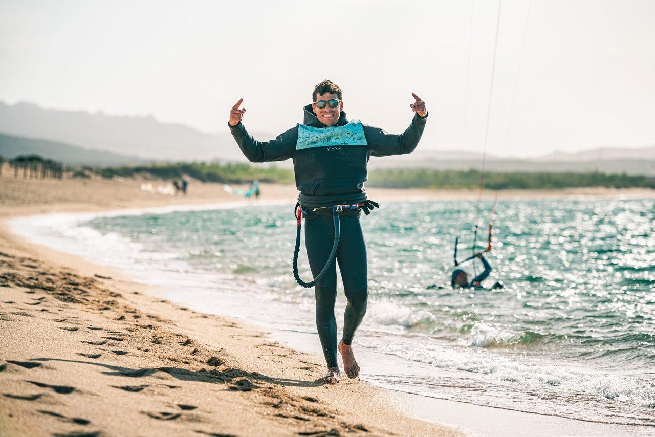 Scuola kitesurf Triderland - Simone Timpano