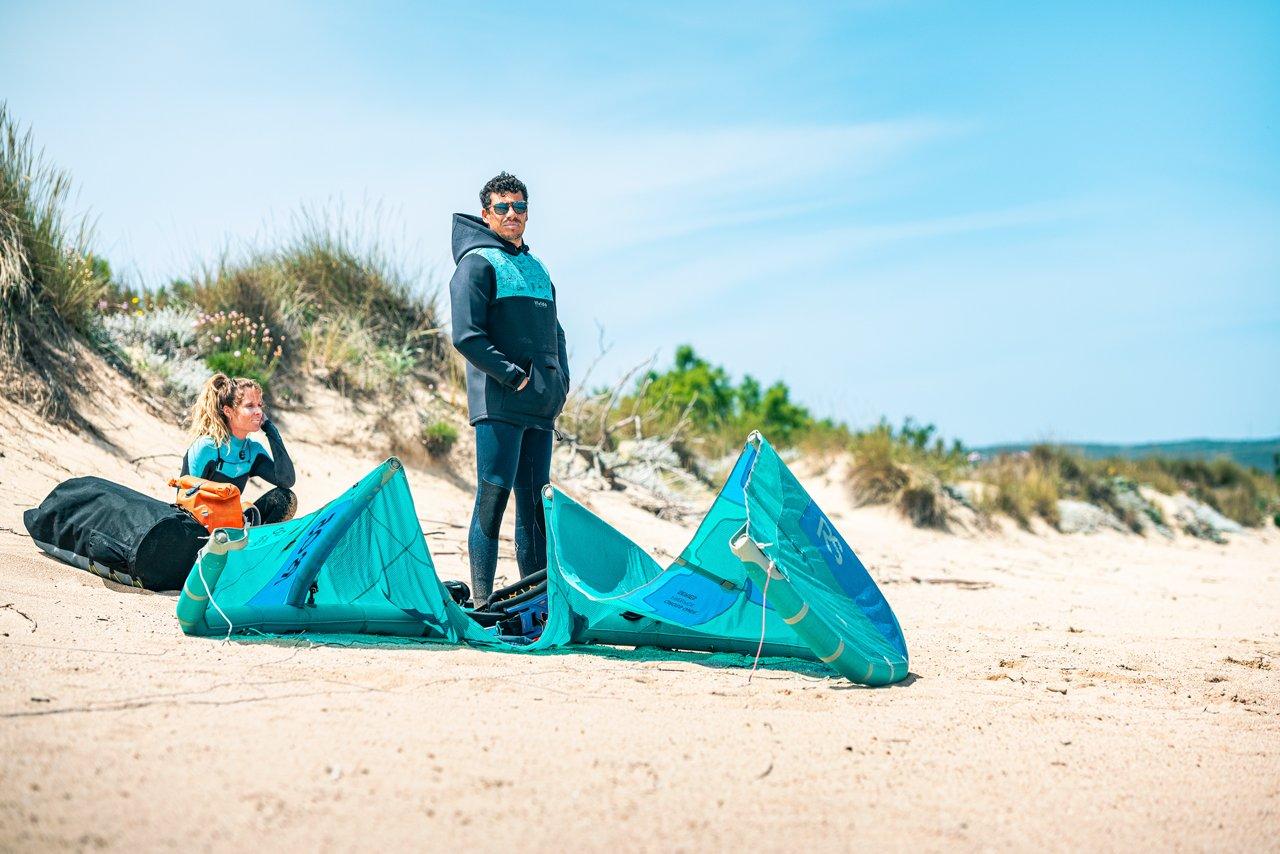 Difficoltà creazione scuola kitesurf Triderland